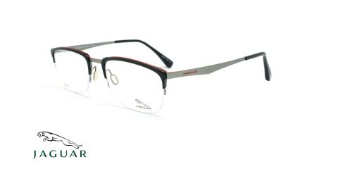 عینک طبی زیرگریف جگوار JAGUAR 39511 - مشکی - عکاسی وحدت - زاویه سه رخ