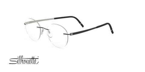 عینک طبی گرد وگ -  VOGUE VO5167 -رنگ مشکی - عکاسی وحدت - عکس زاویه سه رخ -