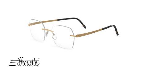 عینک طبی گریف سیلوئت - Silhouette 5529HB - عکاسی وحدت - عکس زاویه سه رخ