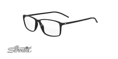 عینک طبی کائوچویی سیلوئت - Silhouette spx2893 - رنگ مشکی - عکاسی وحدت - عکس زاویه سه رخ
