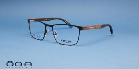عینک طبی اوگا مدل 10044 - عکس از زاویه سه رخ