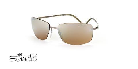 عینک طبی گریف سیلوئت - Silhouette 8681 - عکس زاویه سه رخ
