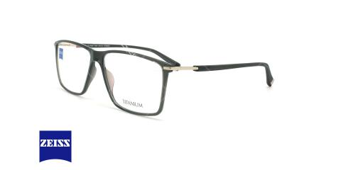 عینک طبی کائوچویی زایس ZEISS ZS20015 - مشکی - عکاسی وحدت - زاویه سه رخ