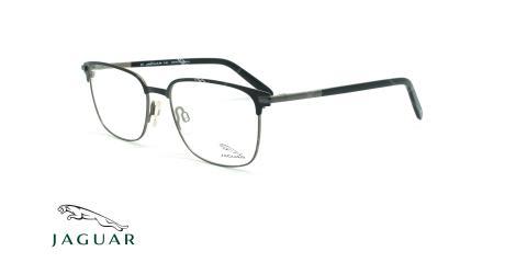 عینک طبی زیرگریف جگوار JAGUAR 33704 - مشکی طوسی - عکاسی وحدت - زاویه سه رخ