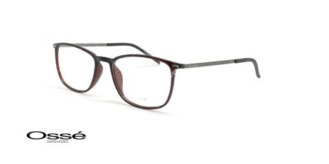 عینک طبی مستطیلی اوسه - Osse Os12036 - قهوه ای - عکاسی وحدت - زاویه سه رخ