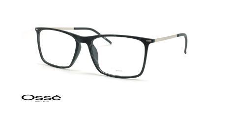 عینک طبی مستطیلی اوسه - Osse Os12037 - مشکی نقره ای - عکاسی وحدت - زاویه سه رخ