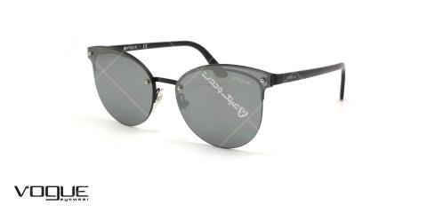 عینک آفتابی گربه ای وگ - VOGUE VO4089S - رنگ مشکی - عکاسی وحدت - عکس زاویه سه رخ