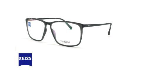 عینک طبی تیتانیومی زایس ZEISS ZS40027 - مشکی - عکاسی وحدت - زاویه سه رخ