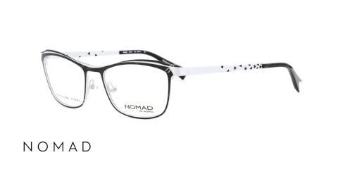 عینک طبی زنانه نوماد - اپتیک وحدت - عکس از زاویه سه رخ