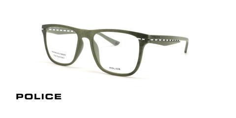 عینک طبی  پلیس - POLICE VPL485 ORBIT - رنگ سبز یشمی - عکاسی وحدت - عکس زاویه سه رخ