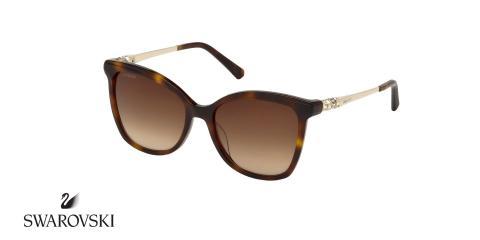 عینک آفتابی گربه ای سواروسکی -  SWAROVSKI SW154H- اپتیک وحدت - عکس زاویه سه رخ