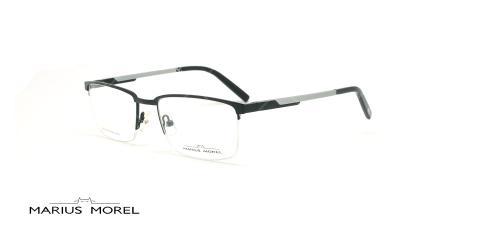 عینک طبی زیرگریف مورل - MARIUS MOREL 50016M - مشکی -عکاسی وحدت - زاویه سه رخ