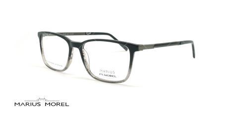عینک طبی کائوچویی مورل - MARIUS MOREL 50048M - مشکی طوسی - عکاسی وحدت - زاویه سه رخ