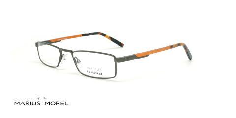 عینک  مطالعه  مورل - MARIUS MOREL 50057M - طوسی نارنجی - عکاسی وحدت - زاویه سه رخ