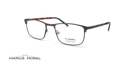 عینک طبی مستطیلی مورل - MARIUS MOREL 50080M - عکس از زاویه سه رخ