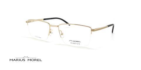 عینک طبی تیتانیوم مورل - MARIUS MOREL 50088M - عکس از زاویه سه رخ