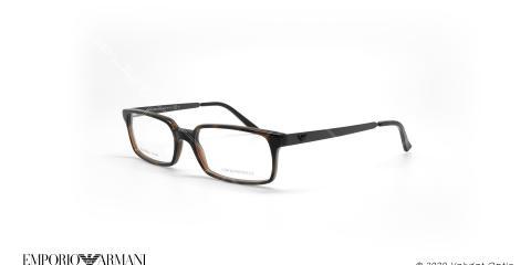 عینک طبی مستطیلی امپریو آرمانی - Emporio Armani EA9781 - قهوه ای  - عکاسی وحدت - زاویه سه رخ
