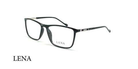 عینک طبی مستطیلی لنا - LENA LE548 - مشکی - عکاسی وحدت - زاویه سه رخ