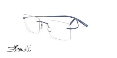 عینک طبی گریف سیلوئت - Silhouette TMA - The Icon 5541 - رنگ سورمه ای