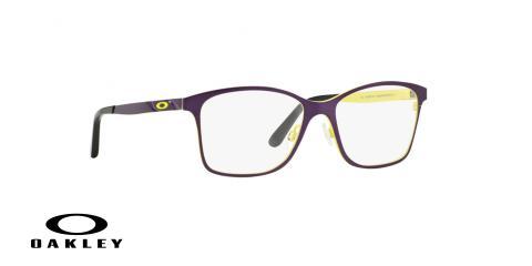 عینک طبی اوکلی - از داخل زرد از بیرون بنفش - ویژه فروش آنلاین - زاویه سه رخ