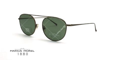 عینک آفتابی فلزی مورل - MARIUS MOREL 60013M - طوسی - عکاسی وحدت - زاویه سه رخ