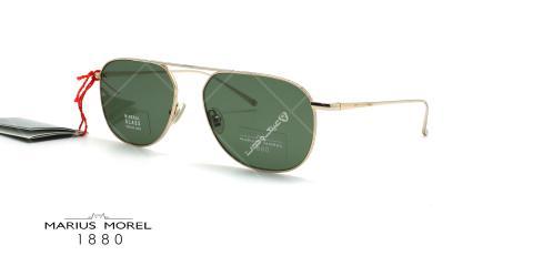 عینک آفتابی خلبانی ماریوس مورل Marius Morel 60014M - طلایی - عکاسی وحدت - زاویه سه رخ