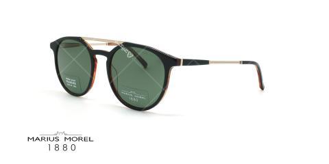 عینک آفتابی دوپل ماریوس مورل Marius Morel 60022M - مشکی طلایی- عکاسی وحدت - زاویه سه رخ