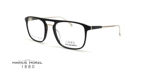 عینک طبی دوپل مورل1880 - MOREL 60061M - عکس از زاویه سه رخ
