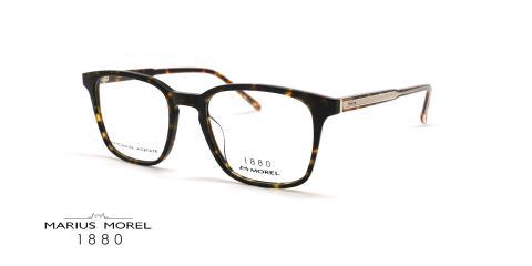 عینک طبی مربعی مورل1880 - MOREL 60091M - عکس از زاویه سه رخ