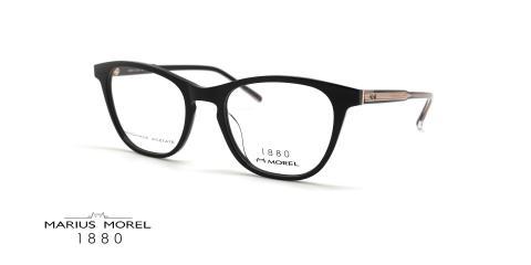 عینک طبی زنانه گربه ای مورل 1880 - marius morel 60092M - عکس از زاویه سه رخ
