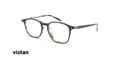 عینک طبی کائوچویی ویستان VISTAN 6095 - مشکی - عکاسی وحدت - زاویه سه رخ