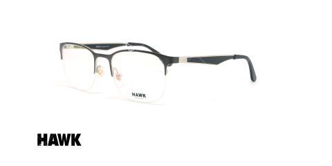 عینک طبی زیرگریف هاوک - HAWK HW7118 - عکاسی وحدت - عکس زاویه سه رخ