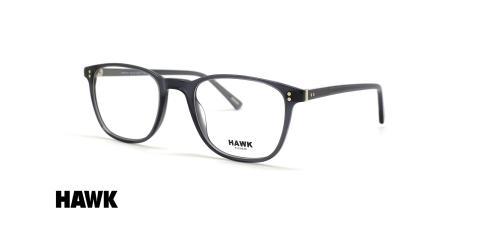 عینک طبی کائوچویی هاوک - HAWK HW7134 - عکاسی وحدت - عکس زاویه سه رخ