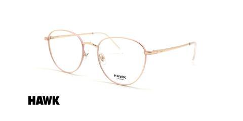 عینک طبی کائوچویی هاوک - HAWK HW7455 - عکاسی وحدت - عکس زاویه سه رخ