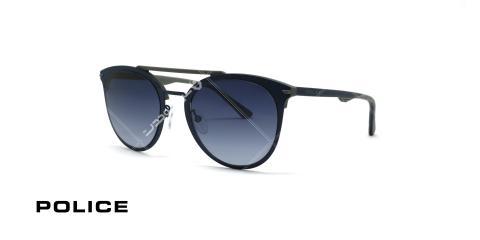 عینک آفتابی پلیس - POLICE SPL491 -فریم مشکی- عکاسی وحدت - زاویه سه رخ