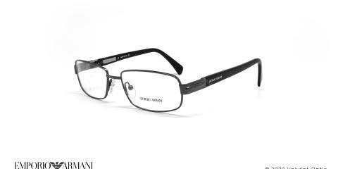 عینک طبی جورجیو آرمانی - GIORGIO ARMANI GA714 - مشکی - عکاسی وحدت - زاویه سه رخ