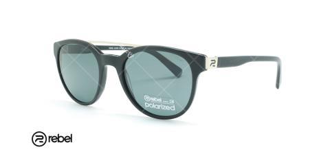 عینک آفتابی ربل  - REBEL 8225R -مشکی- عکاسی وحدت - زاویه سه رخ