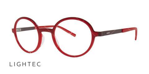 عینک طبی لایتک - وحدت اپتیک - عکس از زاویه سه رخ