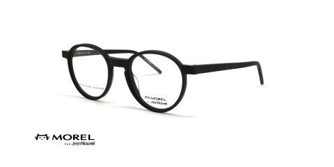 عینک طبی گرد جین نووِل - JEAN NOUVEL 90010C -عکس از زاویه سه رخ