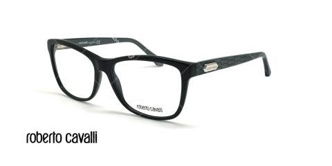 عینک طبی گربه ای روبرتو کاوالی - ROBERTO CAVALLI SADALSUUD RC953 - مشکی - عکاسی وحدت - زاویه سه رخ