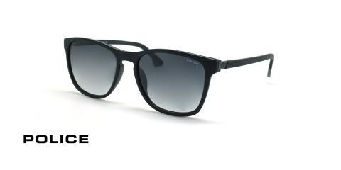 عینک آفتابی کائوچویی پلیس - POLICE LAPIS2 SPL963 - رنگ مشکی طوسی-عکاسی وحدت - عکس زاویه سه رخ