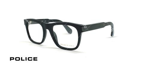 عینک طبی پلیس سری لوئیس همیلتون - Lewis 15 - کائوچویی مشکی پهن -  عکاسی وحدت - زاویه سه رخ