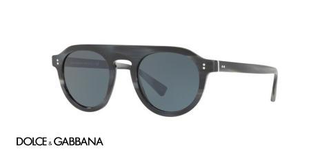 عینک آفتابی کائوچویی مردانه مدل جاز دولچه گابانا - زاویه سه رخ