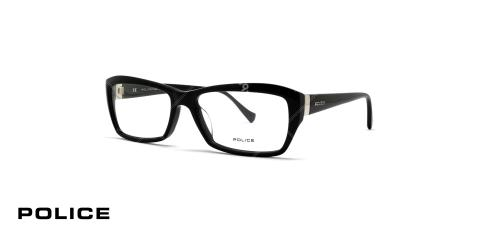 عینک طبی زنانه پلیس - مشکی رنگ - عکاسی وحدت - زاویه سه رخ