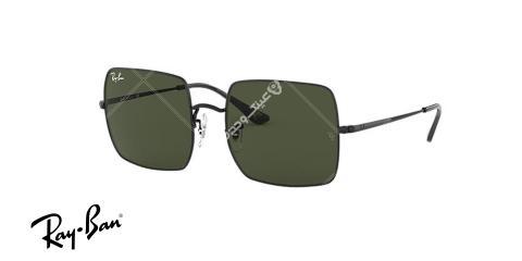 عینک ری بن RB1971-فریم مشکی و عدسی سبز- اپتیک وحدت - عکس از زاویه سه رخ
