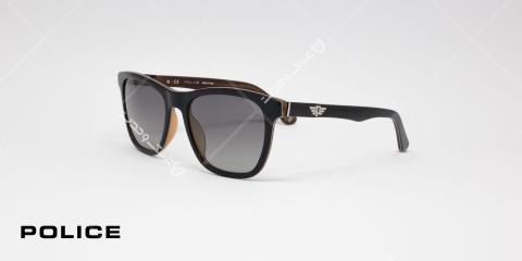 عینک آفتابی پلیس مدل SPL493 Block1 کد رنگ GBEP زاویه سه رخ - عکاسی شده توسط اپتیک وحدت
