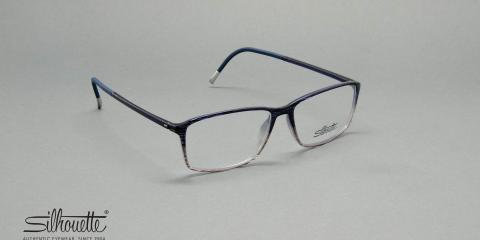 عینک کائوچویی فوق سبک سیلهوئت - مستطیلی شکل - چند رنگ - عکاسی وحدت - زاویه سه رخ