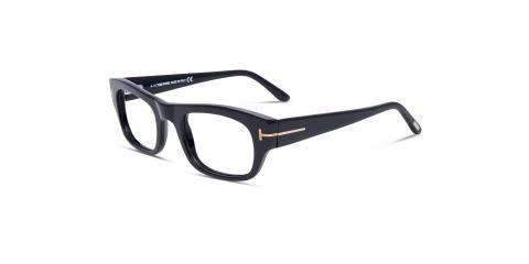 عینک طبی مستطیلی شکل تام فورد - دسته پهن - رنگ مشکی - Tom Ford