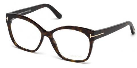 عینک طبی قهوه ای هاوانا طرح پروانه ای تام فورد - Tom Ford