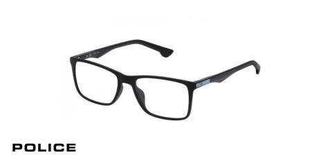 عینک طبی مستطیلی  پلیس - POLICE VPL638 - اپتیک وحدت - عکس زاویه سه رخ
